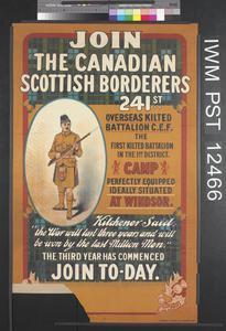 Join the Canadian Scottish Borderers