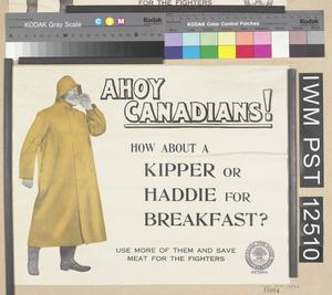 Ahoy Canadians! How About a Kipper or Haddie for Breakfast?