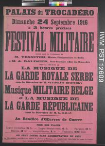 Festival Militaire [Military Festival]