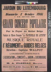 Grand Concert Populaire [Grand Popular Concert]