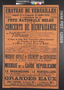 Concerts de Bienfaisance [Charity Concerts]