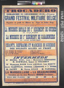Grand Festival Militaire Belge [Grand Belgian Military Festival]