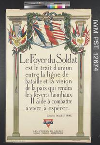 Le Foyer du Soldat [Soldiers' Hostels]