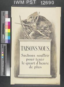 Taisons Nous [Let's Hold Our Tongues]