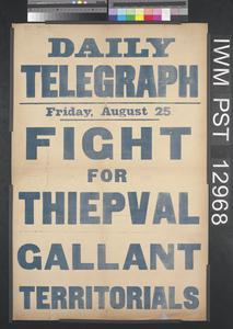Fight for Thiepval