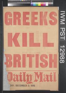 Greeks Kill British