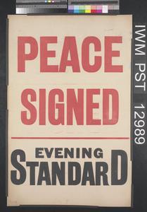 Peace Signed