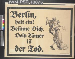 Berlin, Halt Ein! [Berlin, Stop!]