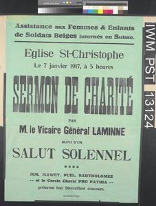 Sermon de Charité [Charity Sermon]