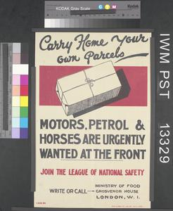 Carry Home Your Own Parcels