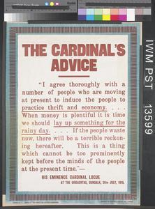 The Cardinal's Advice