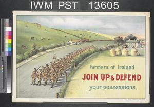 Farmers of Ireland - Join Up and Defend Your Possessions