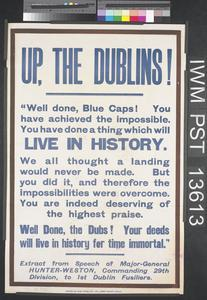 Up, the Dublins!