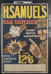 H Samuel's War Watches