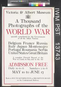 A Thousand Photographs of the World War
