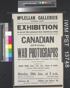 Canadian Official War Photographs