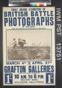 First Grand Exhibition of British Battle Photographs in Colour