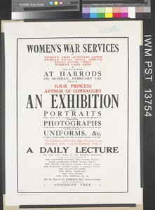 Women's War Services - An Exhibition