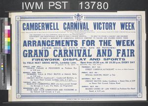 Camberwell Carnival Victory Week
