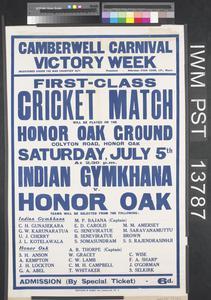 First-Class Cricket Match