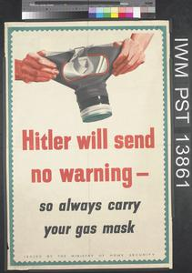 Hitler Will Send No Warning
