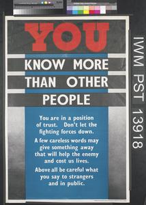 You Know More than Other People