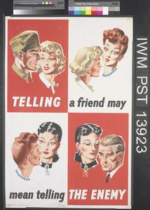 Telling a Friend May Mean Telling the Enemy [Army]