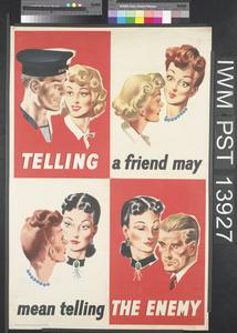 Telling a Friend May Mean Telling the Enemy [Navy]