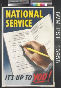 National Service - It's Up to You!