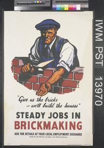 Steady Jobs in Brickmaking