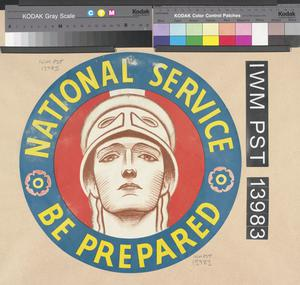 National Service - Be Prepared