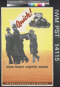Quick! Blood Donors Urgently Needed