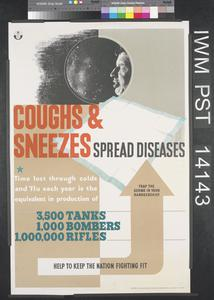 Coughs and Sneezes Spread Diseases - Time Lost Equivalent in Production of 3,500 Tanks...