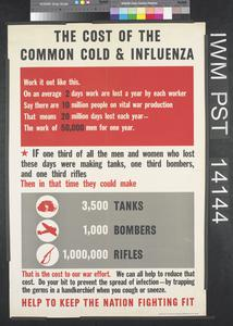 The Cost of the Common Cold and Influenza