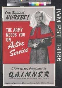 State Registered Nurses!