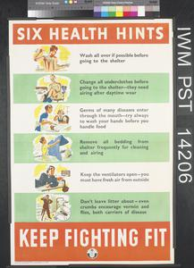 Six Health Hints
