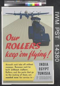 Our Rollers Keep 'Em Flying!