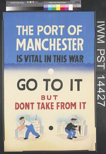 The Port of Manchester is Vital in this War