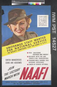 Join the Victory March with NAAFI