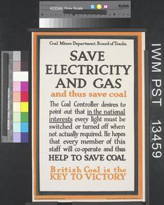 Save Electricity and Gas