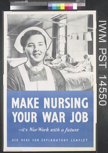 Make Nursing Your War Job
