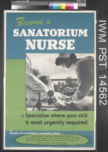 Become a Sanatorium Nurse