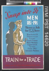 Snap into it - Train for a Trade