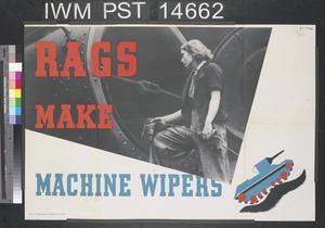 Rags Make Machine Wipers