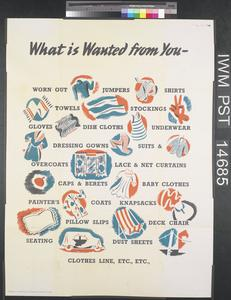 What is Wanted from You