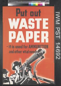 Put Out Waste Paper
