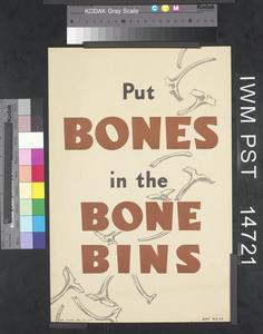 Put Bones in the Bone Bins