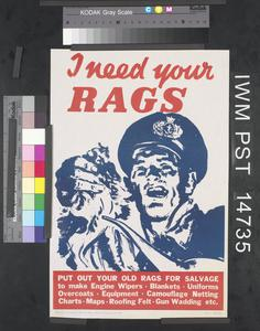I Need Your Rags