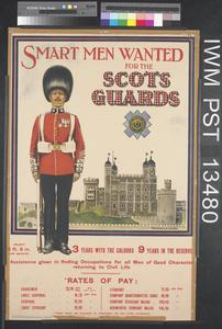 Smart Men Wanted for the Scots Guards