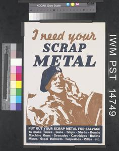 I Need Your Scrap Metal